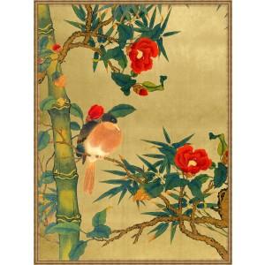 Bamboo Garden Birds 1