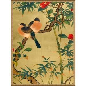 Bamboo Garden Birds 2